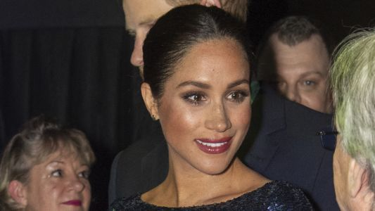 Gasp! Meghan Markle Broke Her Own Protocol And Wore Red Lipstick For The First Time As A Royal