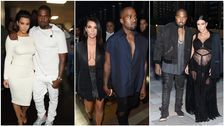 In Memory Of Kim And Kanye's Couple Outfits Through The Years