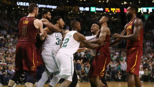 Marcus Smart irked by Cavs 'bully' J.R. Smith's flagrant foul