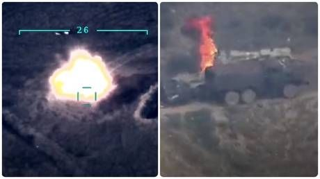 Azerbaijan, Armenia show more footage of alleged military victories in border flareup