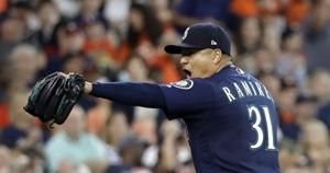 Healy, Mariners rally past Astros 4-3 in 10 for 4-game sweep