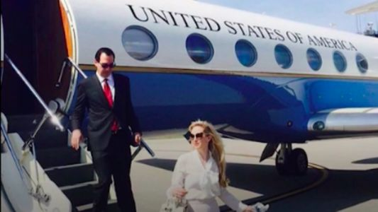 Mnuchin asked to use a government jet for his honeymoon