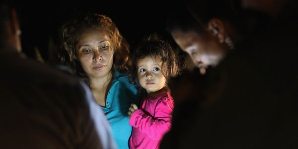 The Trump administration has been sending babies and toddlers to 'tender age' shelters after forcibly separating them from their parents