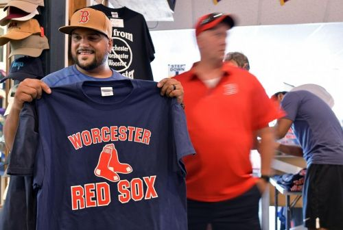 After PawSox announcement, Worcester business begins printing gear