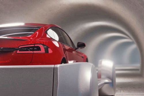 Elon Musk Unveils The Boring Company's Underground L.A. Tunnel