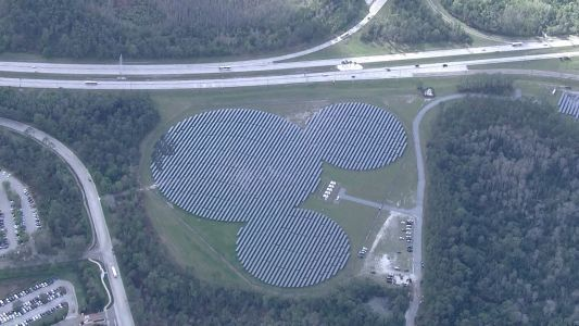 Massive solar panel project planned for Disney property