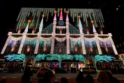 In a tough year, NYC's holiday windows are a glittering homage to hope