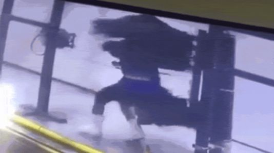 Watch This Poor Car Wash Worker Get Whipped Around By A Huge Brush