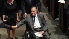 George H.W. Bush Out Of Intensive Care Unit After Blood Infection