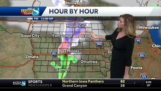 Incoming wintry mix will bring rain, ice and snow
