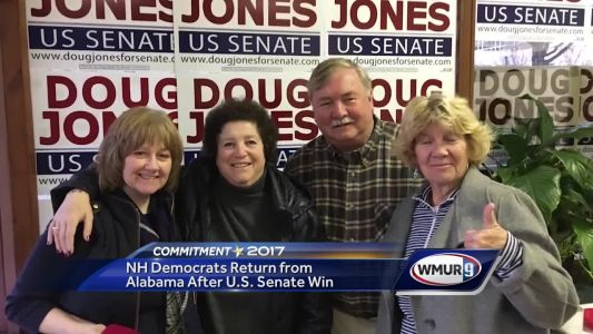 NH Democrats volunteer for Doug Jones campaign