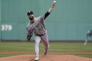 Mercedes homers, White Sox complete sweep over Red Sox