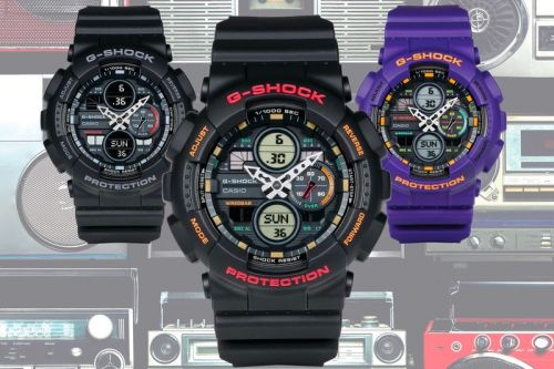 G-SHOCK Drops a '90s Boombox-Inspired GA-140 Series
