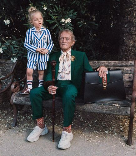 Mick Rock shoots Rome residents for Gucci campaign