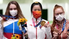 And The First Medal Of The Pandemic-Delayed Tokyo Olympics Finally Goes To