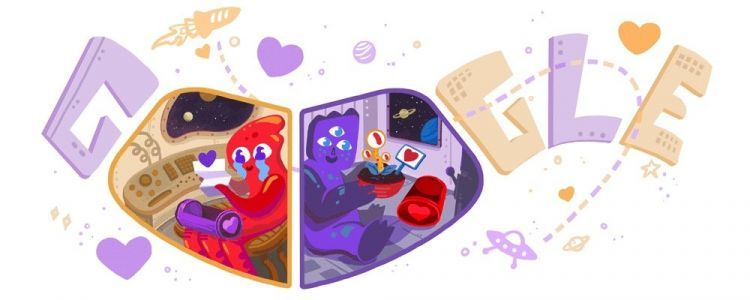 This year's Valentine's Day Google doodle features 2 adorable aliens. Here's the past 10 years of Google doodles celebrating love
