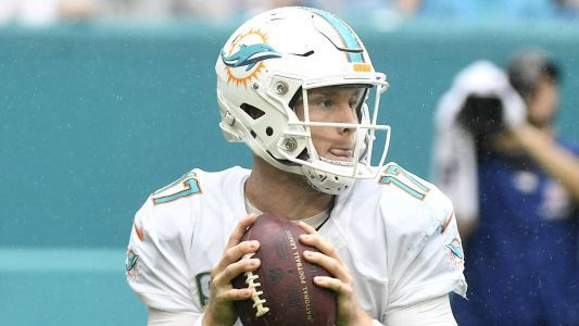Ryan Tannehill injury update: Dolphins QB unexpectedly listed as questionable for Bears game