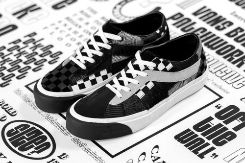 Size? and Vans Stitch Together Third Patchwork Sneaker Collaboration