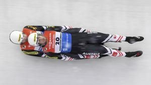 Taubitz wins, Britcher second for US at snowy luge World Cup