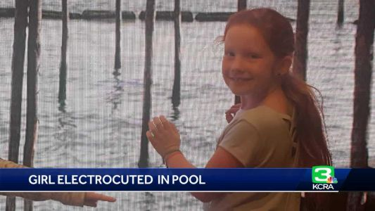 Family, friends mourn girl electrocuted in Citrus Heights pool