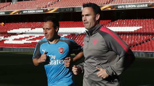 Santi Cazorla is back! Arsenal star on brink of return from 18-month injury hell