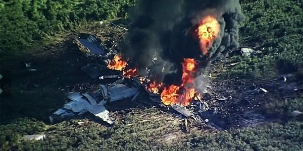 15 Marines and a sailor died in a fiery plane crash after military maintenance failed to fix a faulty propeller blade