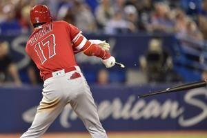 Ohtani ties it, Simmons wins it in 9th as Angels beat Jays