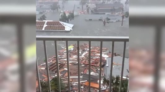 Incredible video shows destruction of Hurricane Michael