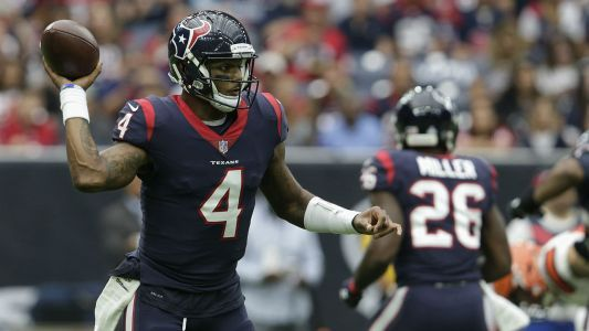 Texans QB Deshaun Watson on record pace for TD passes by rookie