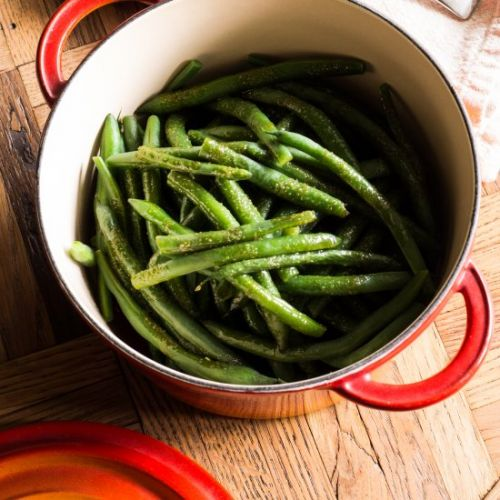 Sweet & Savory Green Beans
