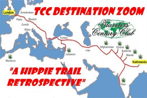Jan. 16 TCC Destination Zoom: 'A Hippie Trail Retrospective'