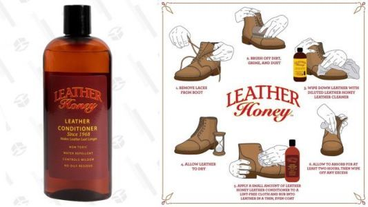 If You Own Any Leather, You Need Leather Honey - Save a Few Bucks On a Bottle