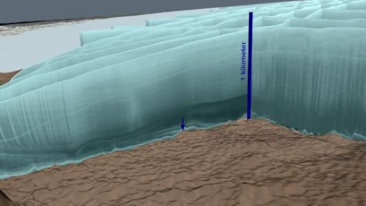 Scientists find huge meteor crater under Greenland's ice