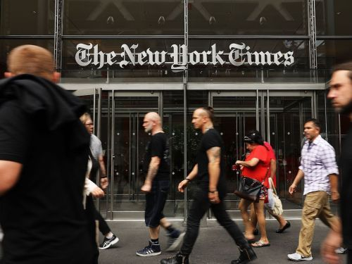 The New York Times made a cringeworthy mistake that says it all about how the media misrepresents the Israeli-Palestinian conflict