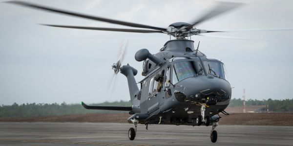 The Air Force just started testing its new Grey Wolf helicopter, the replacement for the Huey