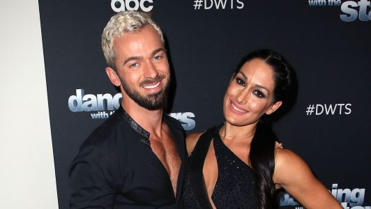 Nikki Bella Hangs Out With Artem Chigvintsev After Confirming Their Relationship on 'Total Bellas'