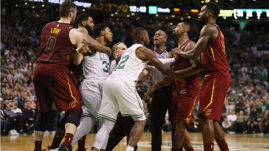 Tyronn Lue says Celtics 'gooning the game up;' Marcus Smart upset with JR Smith's flagrant