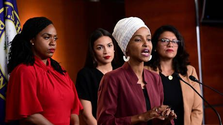 AOC & Omar's 'Squad' bashes Trump for 'distracting' tweet - by devoting entire conference to it