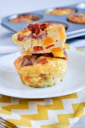 Breakfast Egg Muffins for When You're on the Go