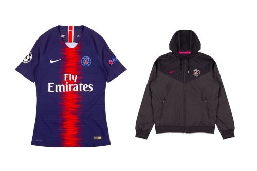 Smets & Paris Saint-Germain Come Together for a Special Jersey Range