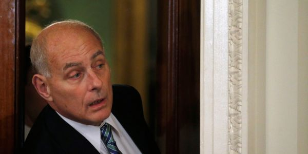 Trump has reportedly tried to fire John Kelly, but fails because he usually uses Kelly to fire people