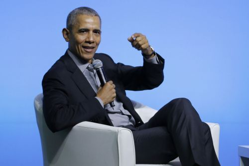 Obama tells young people not to get down about climate change