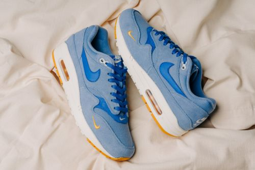 "Nike's Air Max 1 Premium Gets a ""Work Blue"" Revamp"