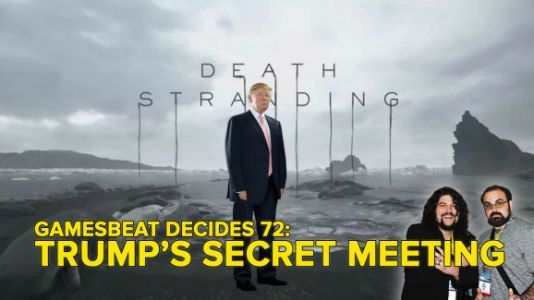 GamesBeat Decides 72: Enter the Konami code to unlock Trump's secret game meeting