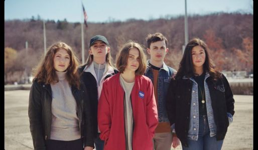 """Watch teen gun control activists perform their rallying cry """"We Ask Back"""""""