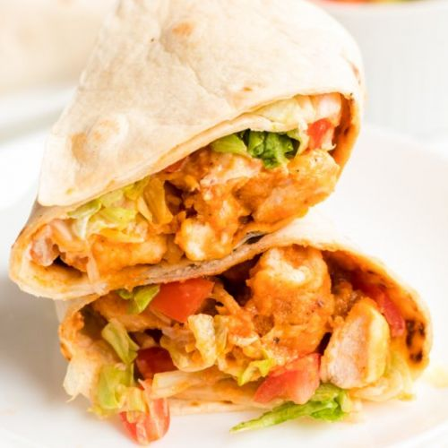 Buffalo Ranch Chicken Wraps