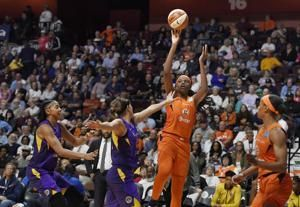 Sun rout Sparks 94-68, take 2-0 lead in semifinal series