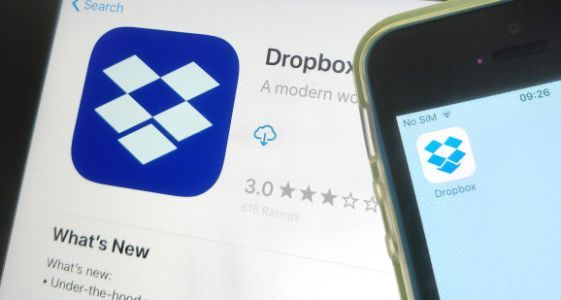 Dropbox IPO priced at $21 per share with a market cap of $9.18 billion