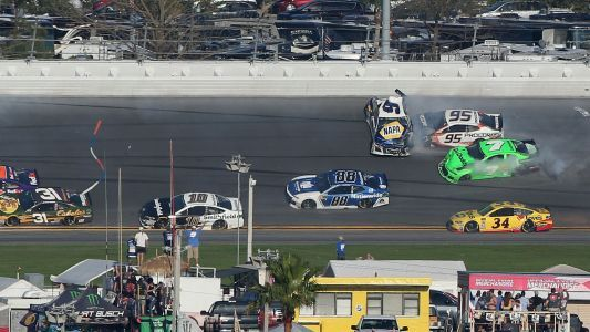Watch: Danica Patrick's NASCAR career comes to an end in big Daytona 500 wreck