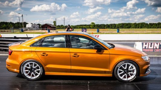 This 600 HP Audi RS3's 9.83-Second Quarter Mile Introduced Me To The Word 'Frisson'